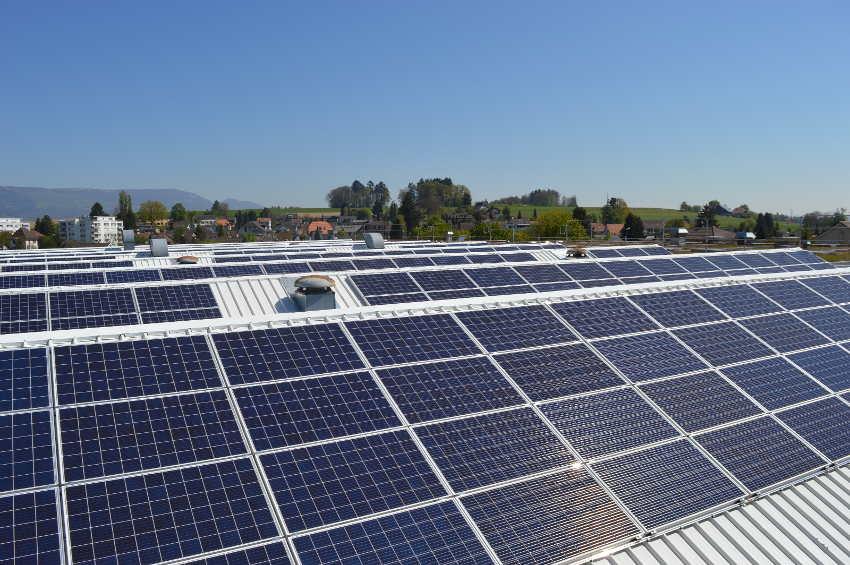 centrale solaire de Biberist
