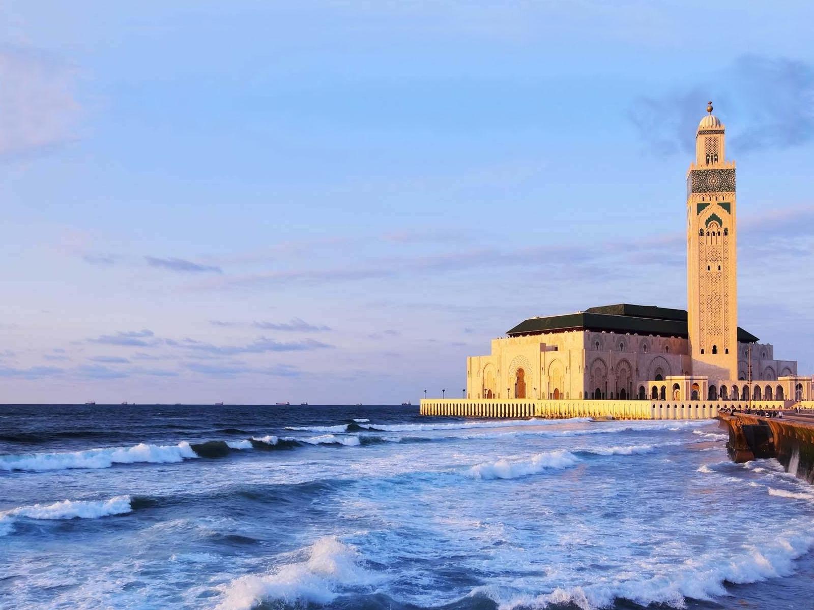 la Grande Mosquée Hassan II